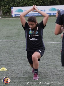 Pamela Gutiérrez jugadora Sele Sub 17 (2)