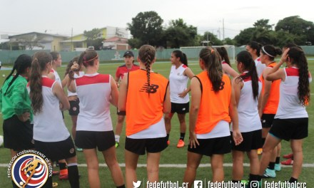 Sub 17 femenina lista para debut en eliminatoria