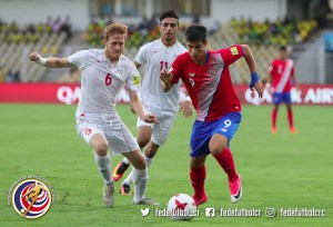 Sele Sub 17 vs Irán Mundial India 2017 (1)