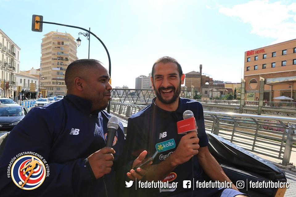 Recorriendo Málaga con Celso Borges