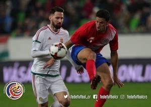 Amistoso CRC vs Hungría Daniel Colíndres noviembre 2017