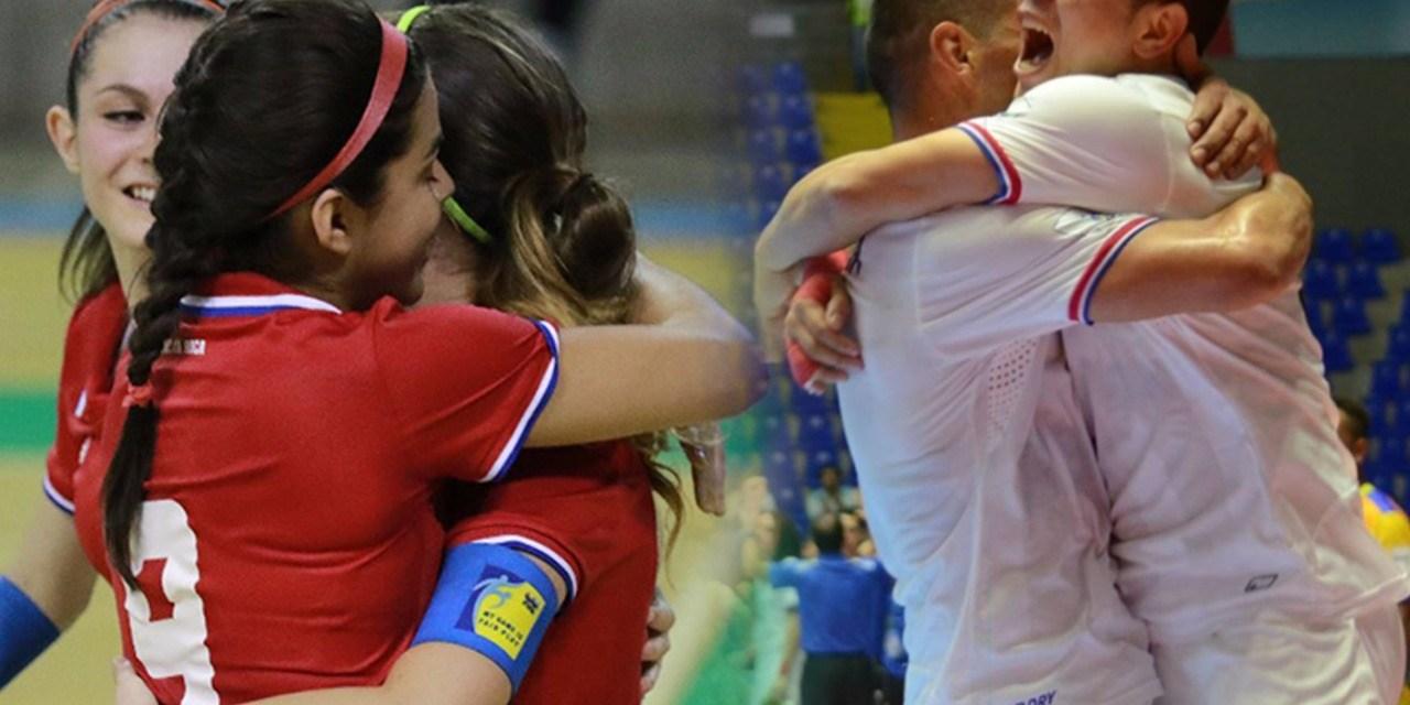 Futsal masculino arranca mañana; femenino solo se fogueará