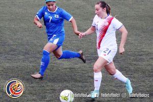 Gloriana Villalobos Juegos Centroamericanos SLV vs CRC