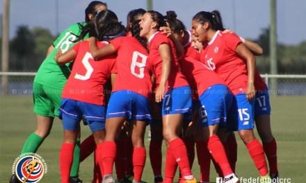Ticas se coronan campeonas centroamericanas