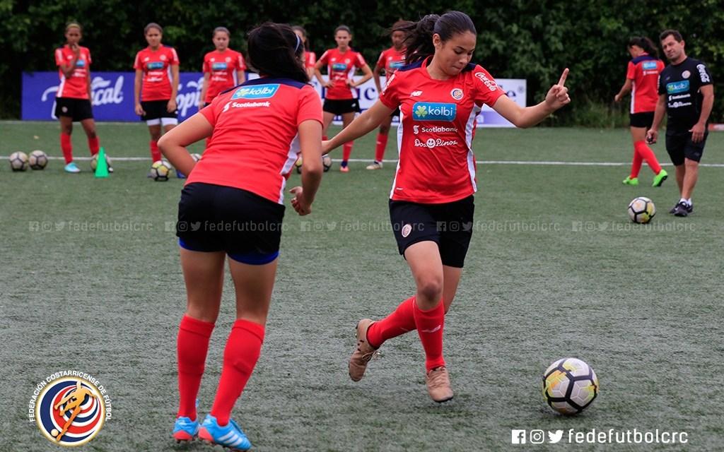 Sub 15 femenina jugará torneo de CONCACAF