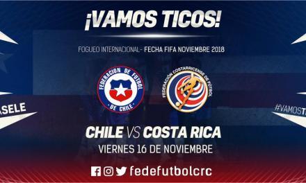 ¡Ante Chile en noviembre!