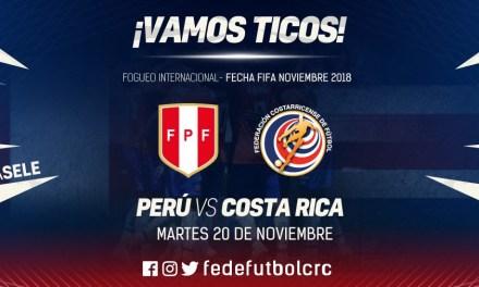 La Sele cerrará el año ante Perú