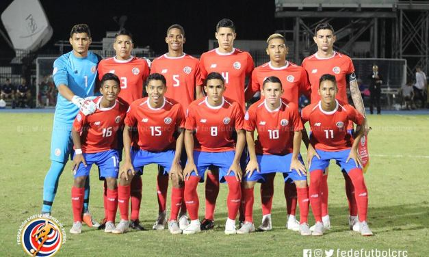 Juvenil saca empate ante Honduras