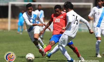 Infantil saca buen empate con Guatemala