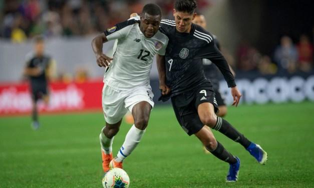 Costa Rica se despide de la Copa Oro