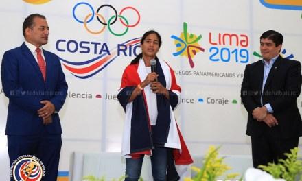 ¡Orgullo! Shirley Cruz será la abanderada en los Panamericanos
