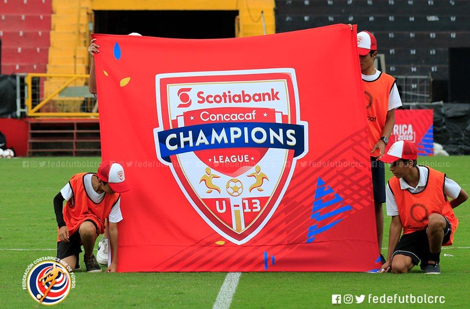 Exitoso cierre de Liga de Campeones Sub 13 de la CONCACAF