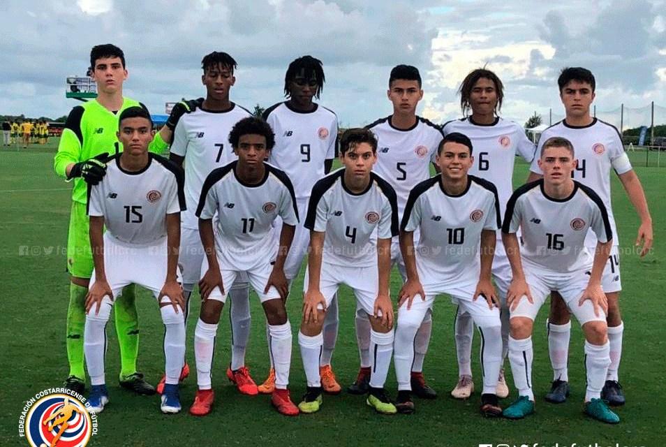 Sub 15 con paso perfecto por torneo de la CONCACAF