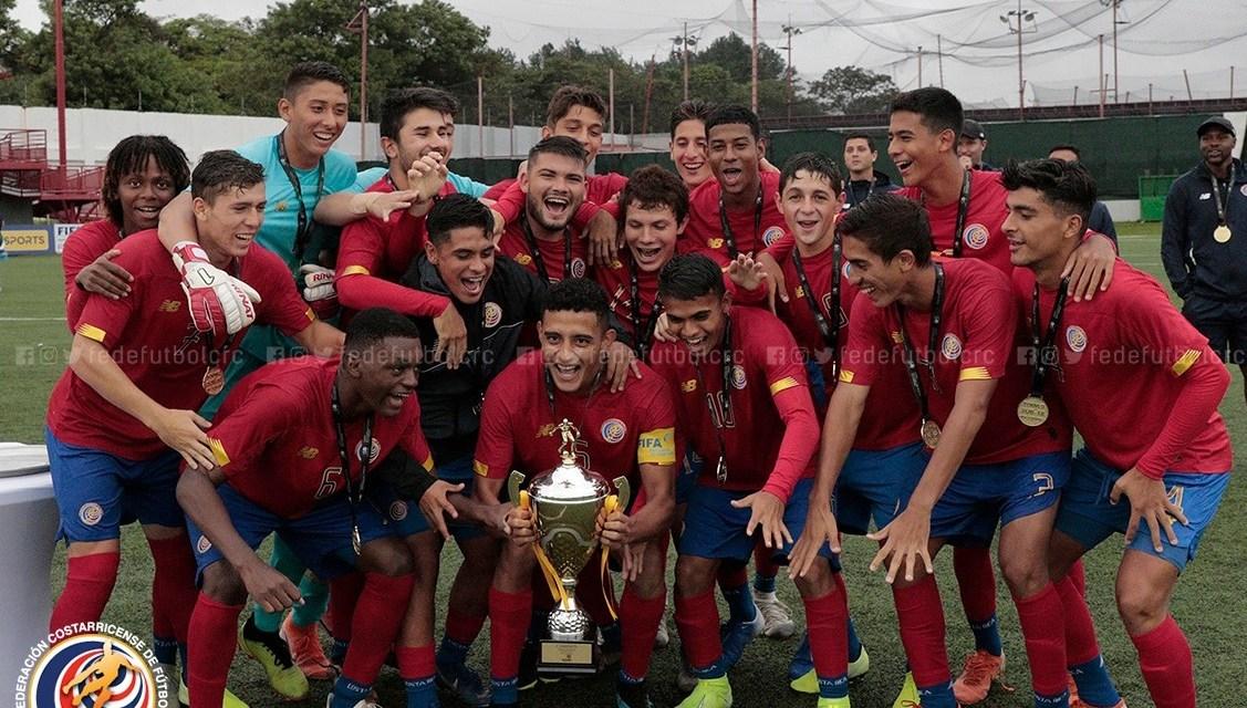 ¡Costa Rica campeona sub 18 de UNCAF!