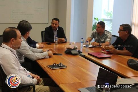 Reunión arbitraje UNAFUT y FEDEFUTBOL 3