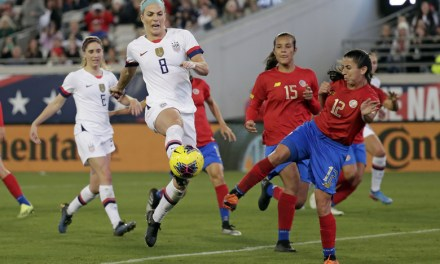 Costa Rica se midió ante las campeonas del mundo