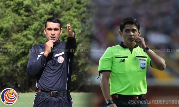 Montero y Calderón designados para dirigir la semifinal de ida