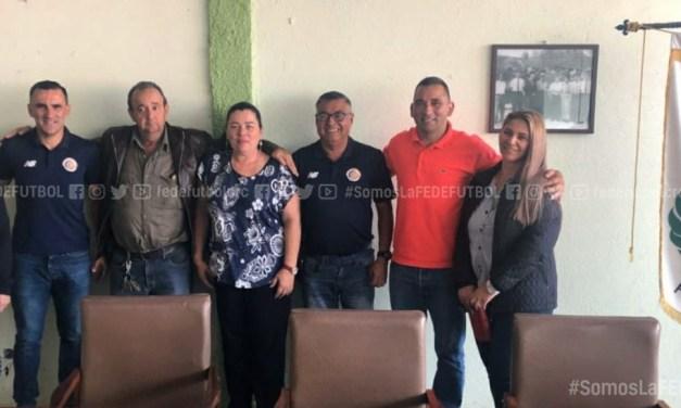 FEDEFUTBOL firma alianzas estratégicas con municipalidades