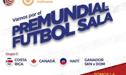 La Sele de Sala ya tiene rivales para el premundial de la CONCACAF