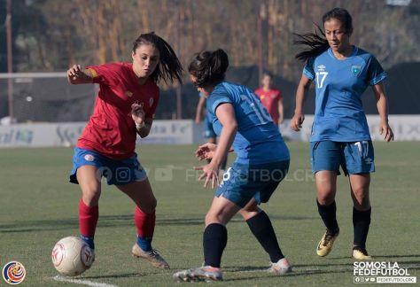 Sele sub 20 femenina CRC vs GUA febrero 2020 2