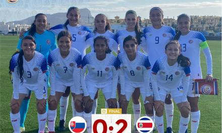 Femenina infantil cierra gira con victoria ante Eslovaquia