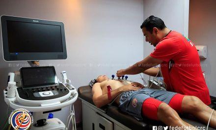 Especialistas médicos de la Fedefútbol apoyan a jugadores en recuperación