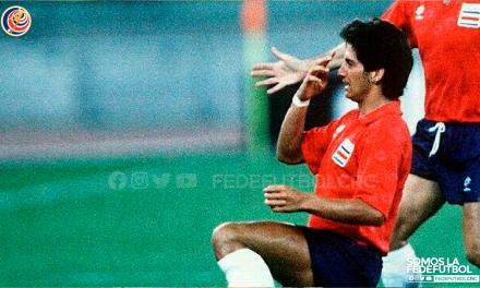 "Rónald González recuerda su gol en Italia 90: ""Esa anotación cambió mi vida"""