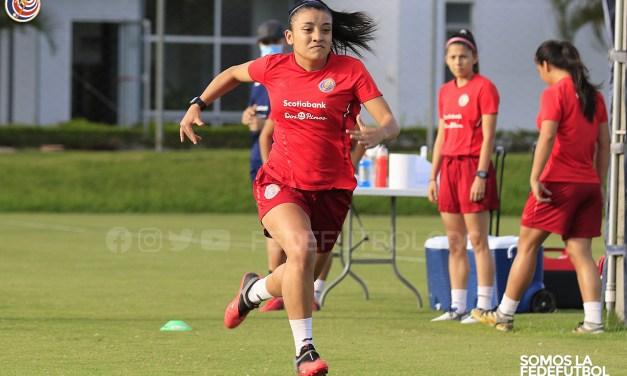 Pruebas físicas fueron las protagonistas en entrenamiento de la Sele Sub-20 Femenina