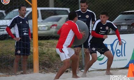 La Sele de Fútbol Playa afina de cara a los fogueos en El Salvador