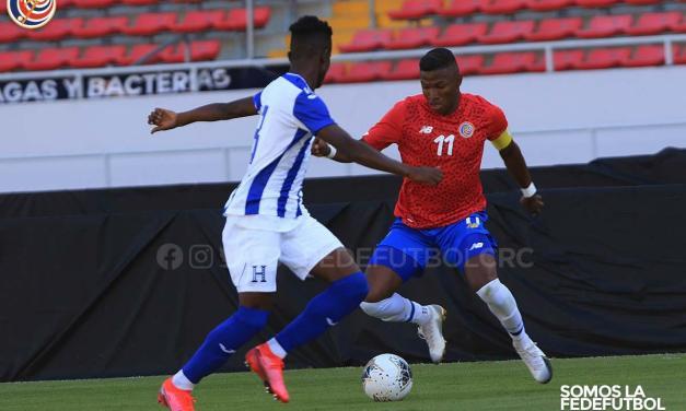 Selección Preolímpica empató a cero con Honduras
