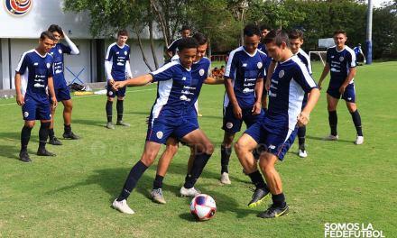 Tricolor Sub-20 estrenó el nuevo balón Penalty