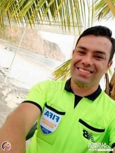 Luis Enrique Torres arbitro de Playa