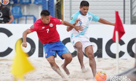 Campeonato de Fútbol Playa de Concacaf fue un éxito de organización en Costa Rica