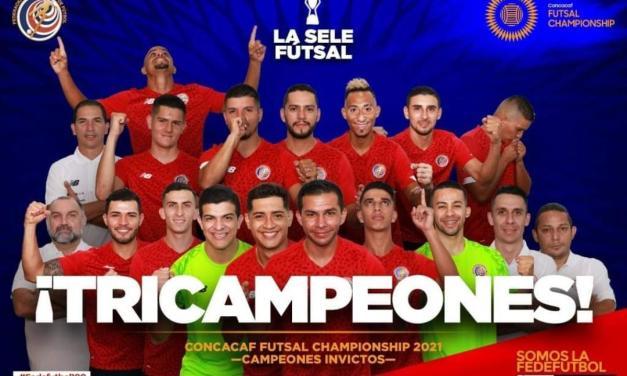 ¡Somos Tricampeones de Concacaf!