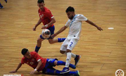 La Sele de Fútsal vuelve a ganarle a Guatemala en amistoso