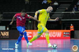 Alonso Cordero La Sele de Futsal setiembre 2021