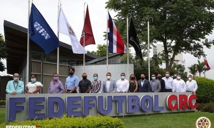 Fedefútbol suscribe acuerdo de cooperación con municipalidades de Guanacaste