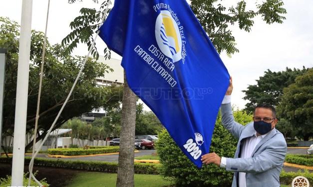 La Bandera Azul ya ondea en la Fedefútbol