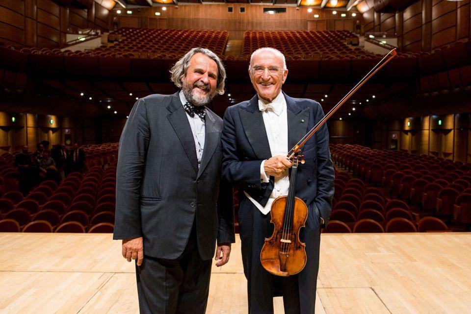 Il Maestro Salvatore Accardo ospite del Gran Galą dell'Alta Fedeltà di Milano 25 e 26 novembre