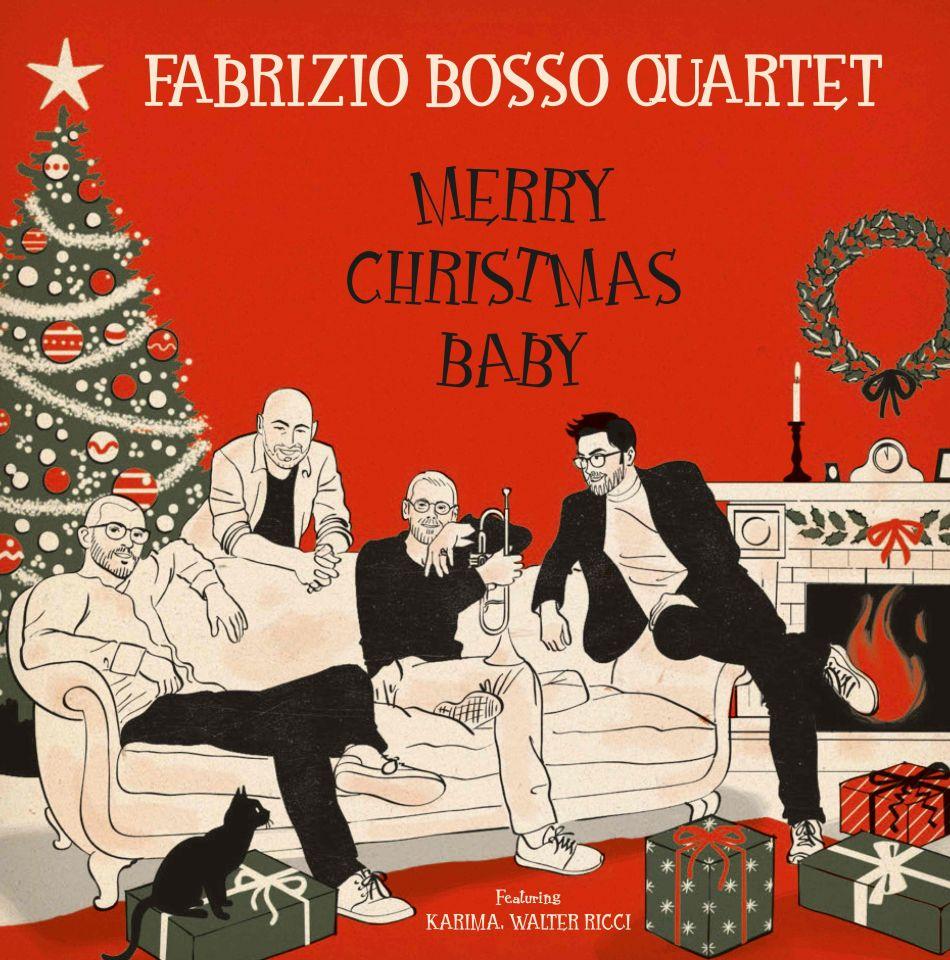 FABRIZIO BOSSO 4et il nuovo album Merry Christmas Baby
