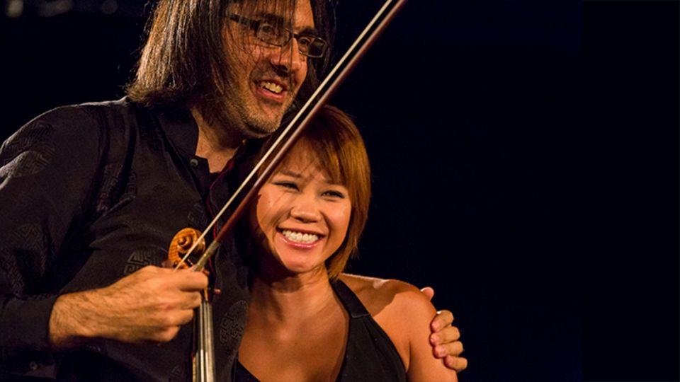 Il 18 dicembre a Roma, Auditorium Parco della Musica, Leonidas Kavakos e Yuja Wang