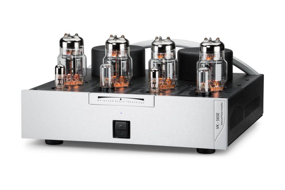 Nuovi amplificatori finali a valvole entry level Vk-56 e Vk-56SE di Balanced Audio Technology