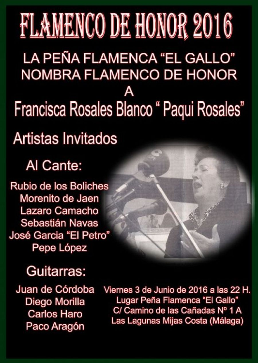 Flamenco de honor 2016 1