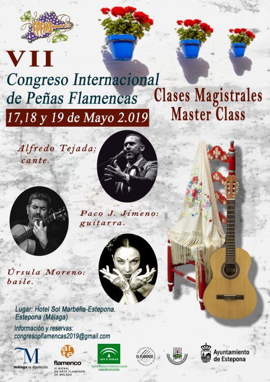 Master Class durante el VII Congreso Internacional de Peñas Flamencas