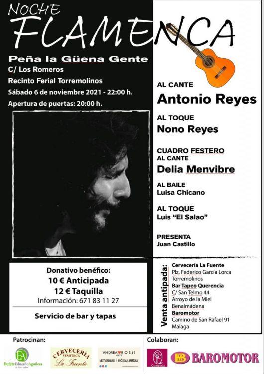 Antonio Reyes, Delia Membrive y Luisa Chicano, en Torremolinos