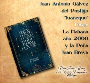 Juaneque aborda el tema 'La Habana año 2000 y la Peña Juan Breva'