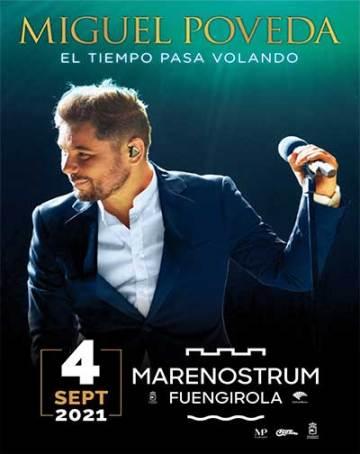 Nueva fecha para el concierto de Miguel Poveda