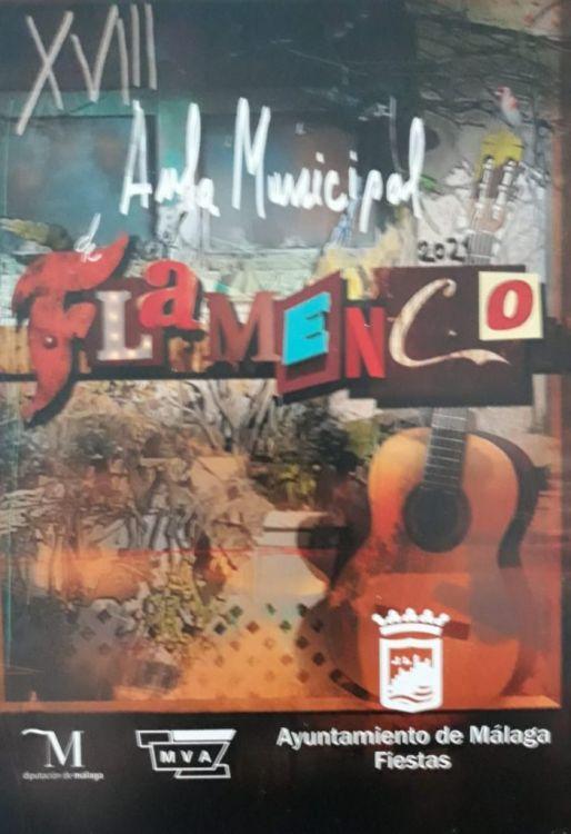ita con Amparo Heredia en el Aula de Flamenco de Málaga