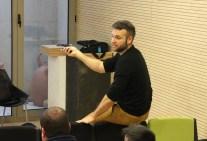Josep Escandell en uno de los cursos que imparte en la Escuela
