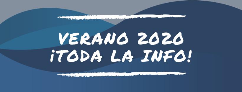 informacion verano 2020